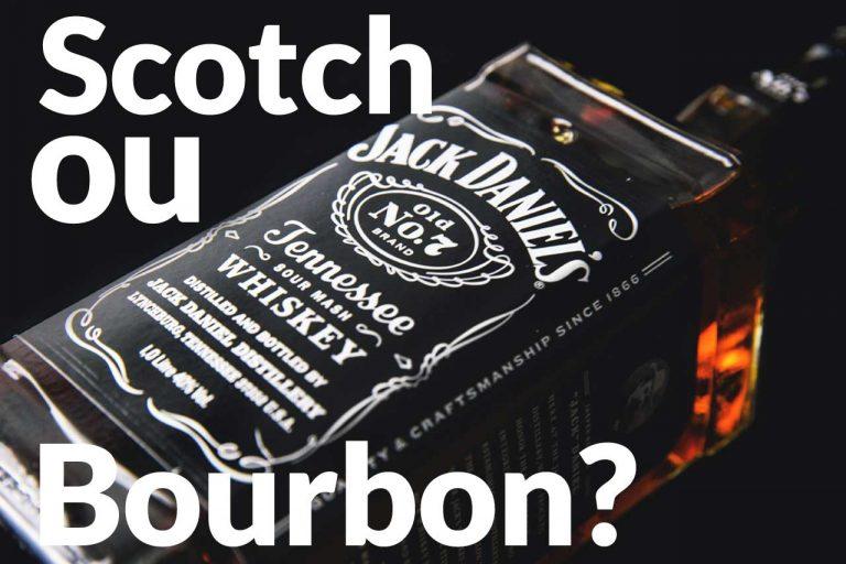 Diferença entre um Bourbon e um Scotch